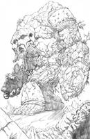Aganos (pencils) by BrianSoriano