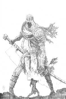 Yhorm The Giant (pencils)