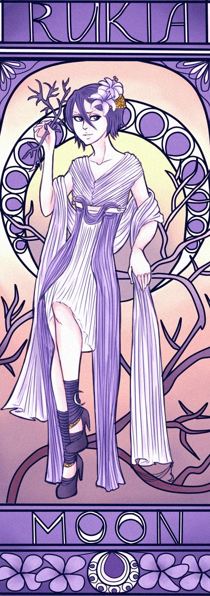 January 2013:Rukia by GrayInBlack