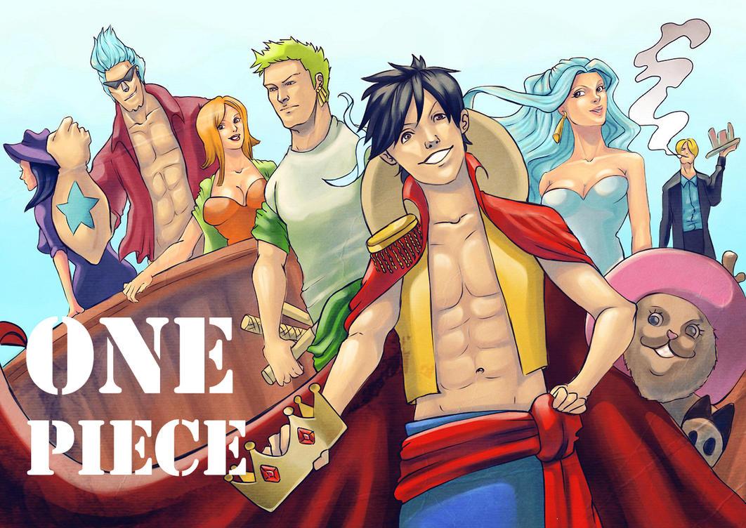 One Piece by GrayInBlack