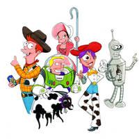 Toy Story-O-rama by Gulliver63