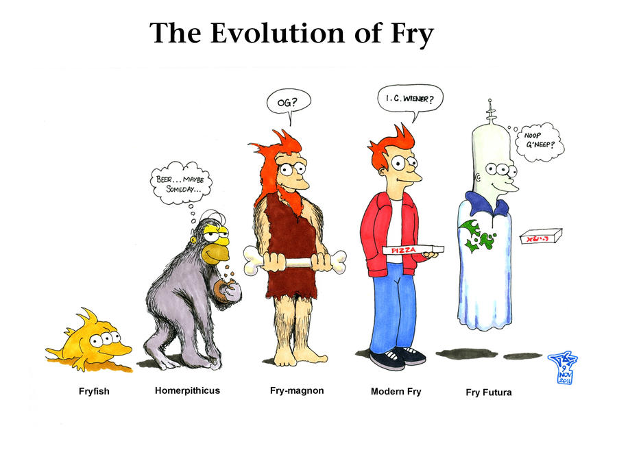 The Evolution of Fry by Gulliver63