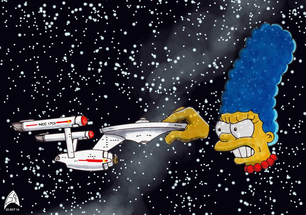 Marge Trek by Gulliver63