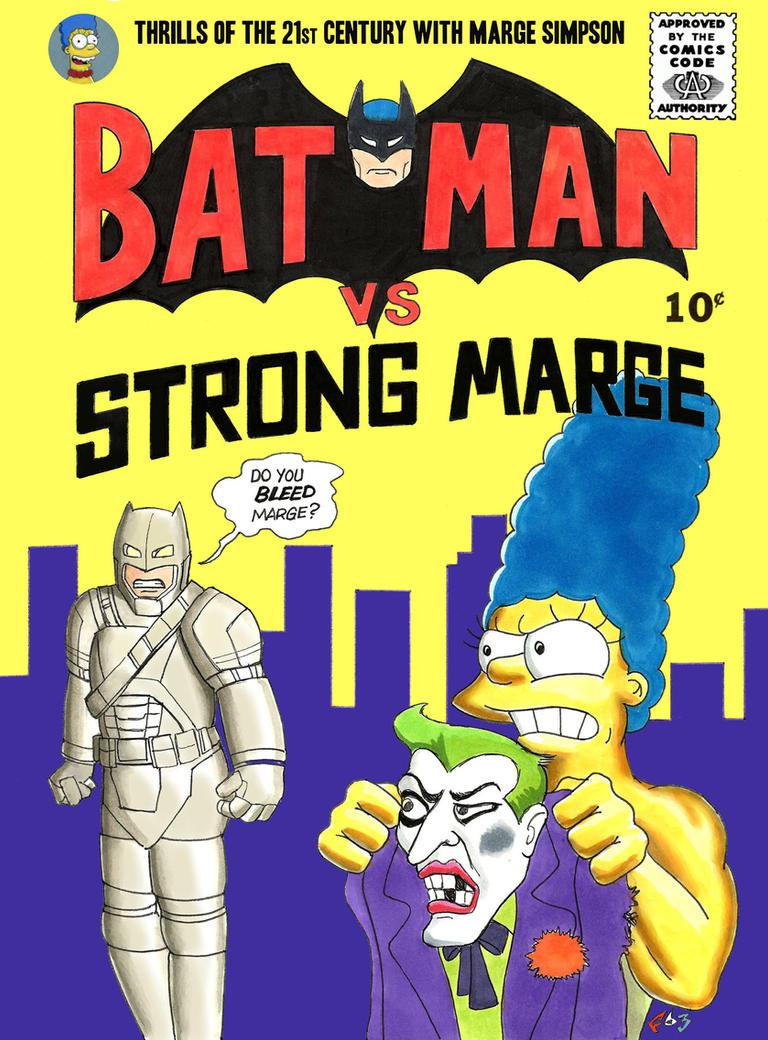 Batman v Marge by Gulliver63 by Gulliver63