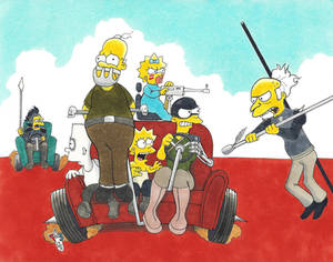 Mad Homer Couch Gag
