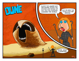 Lois Summons a Sandworm by Gulliver63