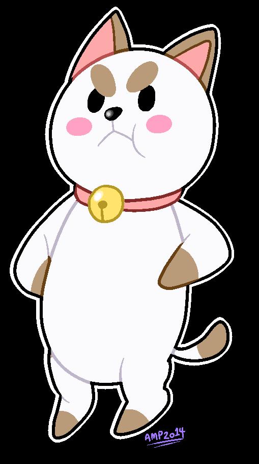 Grumpy ca- I mean Puppy cat by HamtaroFlower
