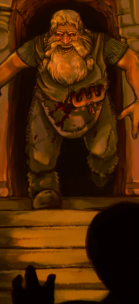 Strange dwarf by Ozich