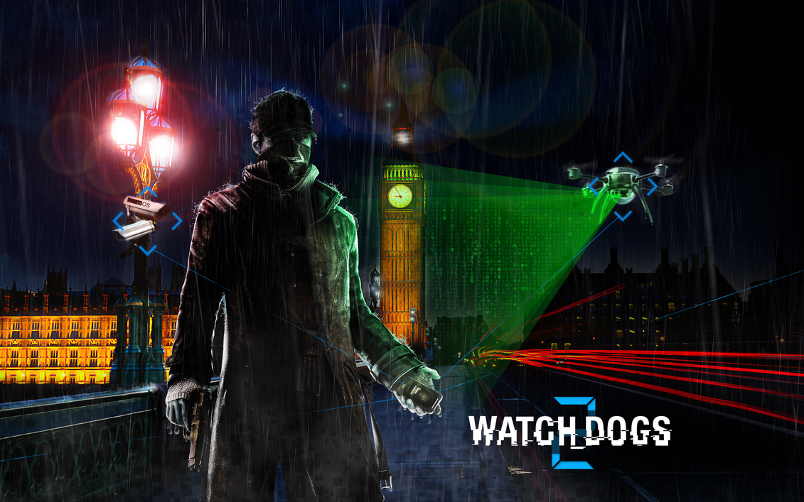 Watch_Dogs 2: London is Connected by Ptitoom