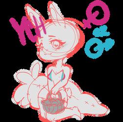 Easter Bunny ych -OPEN- MALE OR FEMALE by Listru