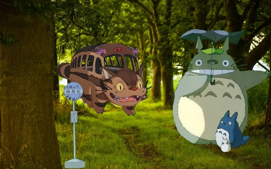 My Neighbor Totoro Wallpaper by misscatastrophy on DeviantArt