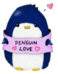 Penguin Love~ by Snaha00