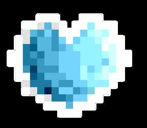 Blue Heart by Snaha00