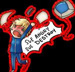 Sue Angryyyyy