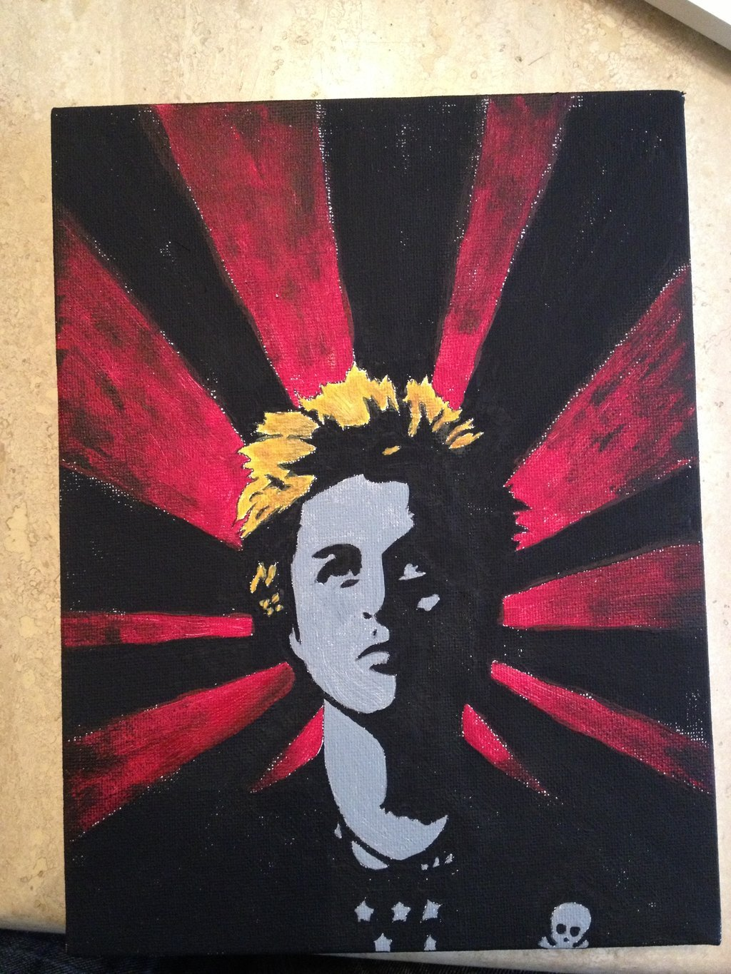 Billie Joe Armstrong -Painting- by CutieTasja