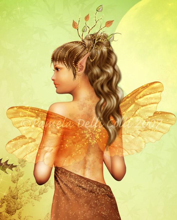 Fae Closeup - Autumnal Dreamer by ImaginedMoments