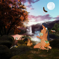 Spirit Magic by ImaginedMoments