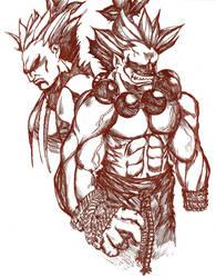 Two Akumas by Rei-Lin