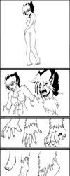 Werewolf Level 3 Comic by Rei-Lin