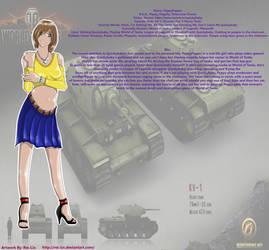 World of Tanks PeppyPepper Fan Art by Rei-Lin