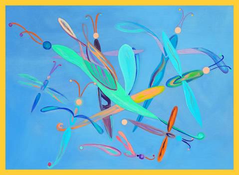 Blue flies