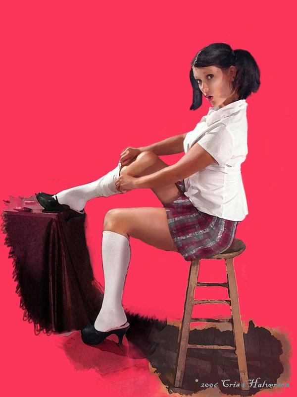Pin on schoolgirls
