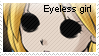 Mad Father- Eyeless girl stamp by OoBloodyRavenoO