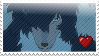 Wolf Father Stamp