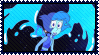 Steven Universe Lapis stamp