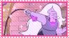 Steven Universe Amethyst Stamp by OoBloodyRavenoO