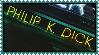 Philip K dick stamp by OoBloodyRavenoO