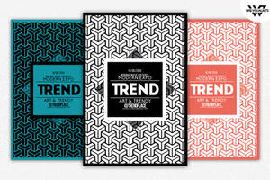 GEOMETRIC TRENDY Flyer Template by WGVISUALARTS