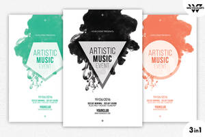 MINIMAL ABSTRACT Flyer Template by WGVISUALARTS