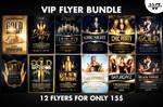 VIP GOLD Flyer Bundle