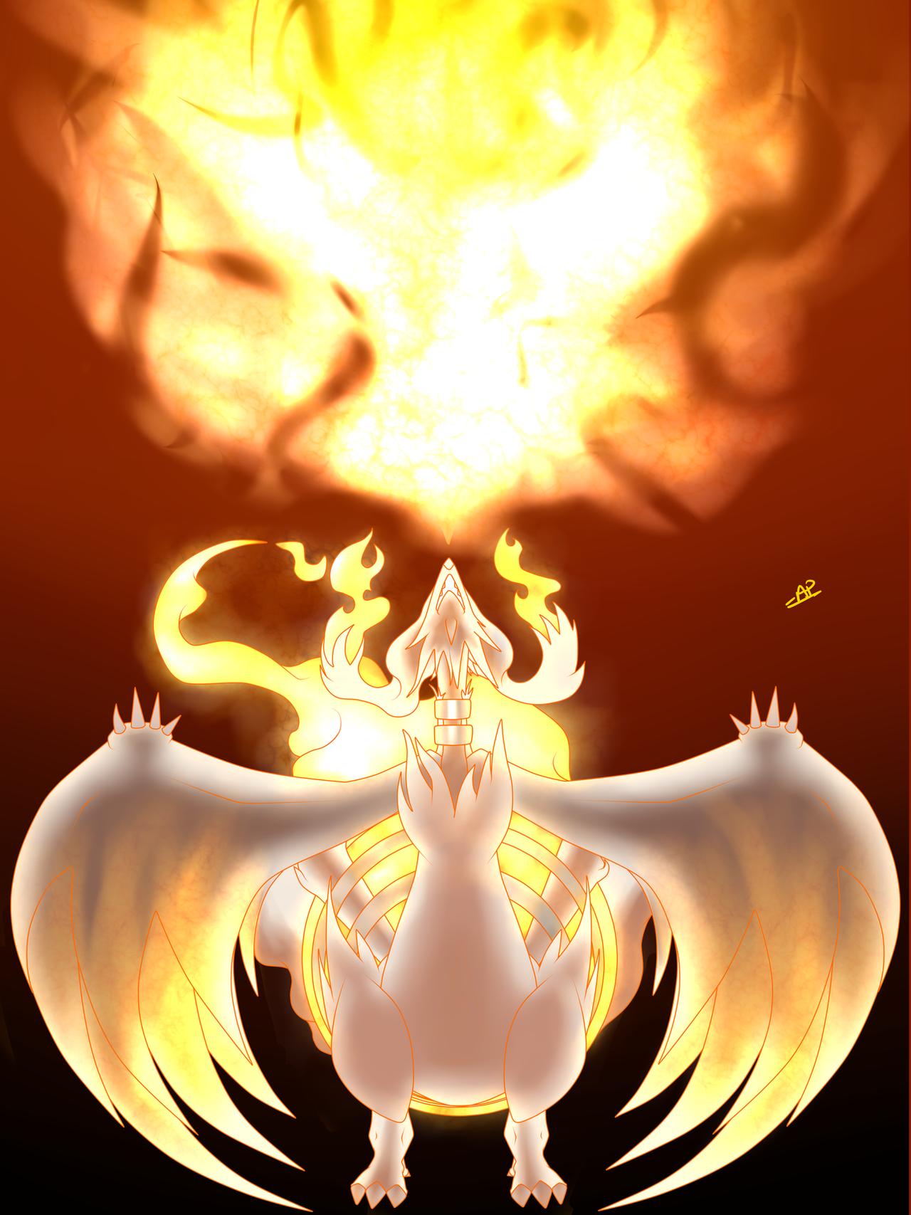 Reshiram's Blaze by TonyFicticium