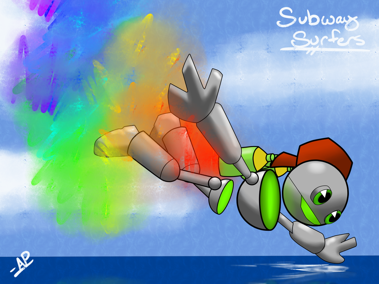 Subway Surfers - Tagbot by TonyFicticium