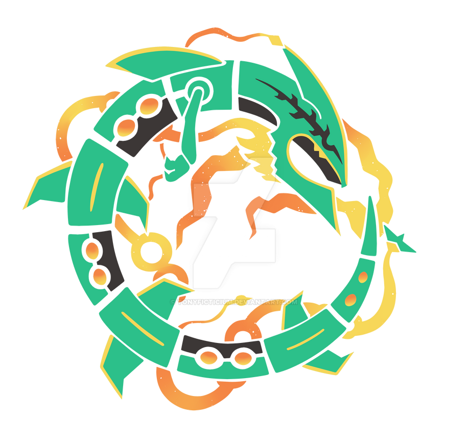 Mega Rayquaza by TonyFicticium