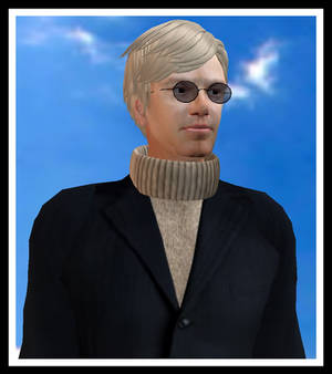 My avatar in Second Life, PCE Graves