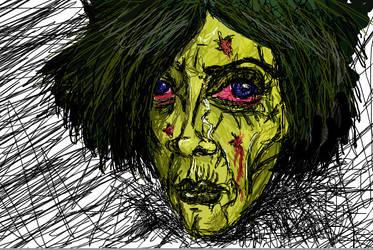 Zombie scissorhands
