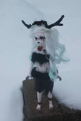 Black Stag by NecrophilacPrince