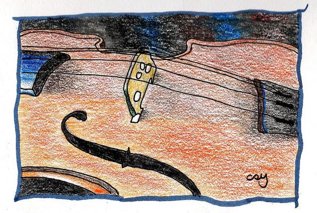 My viola by tintinsnowy