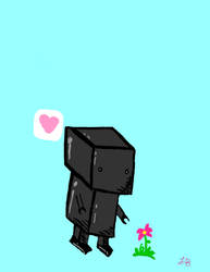 Robot And Flower