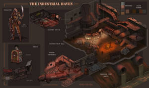 The Industrial Haven Level Design