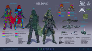 INA Military Expeditionary Forces Snipers