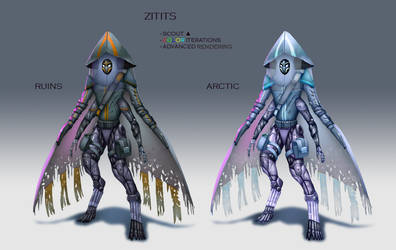 Zititis Scout Character Design