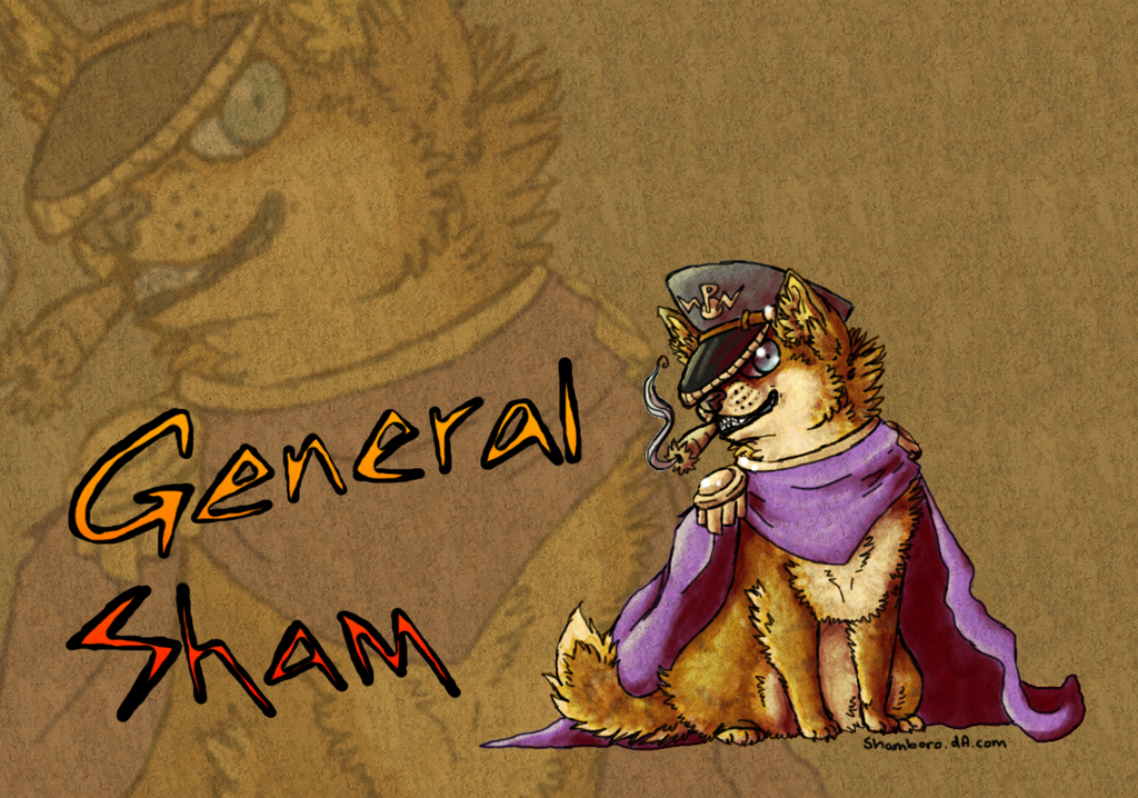 general Sham by Shamboro