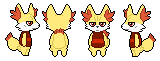 Pokemon crossing Cranky Fennekin by Shamboro