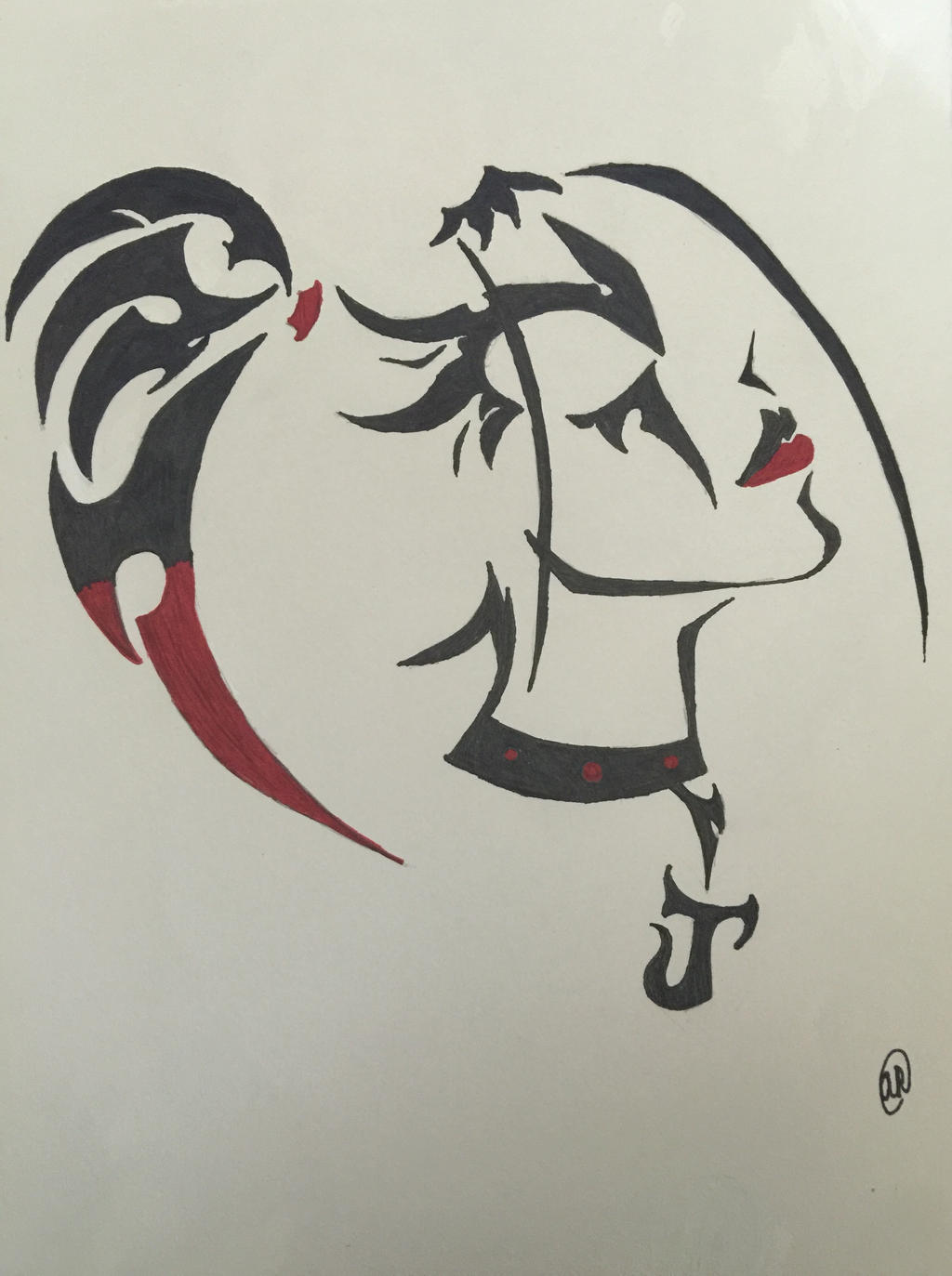 Harley Quinn Tribal By Lps106 On DeviantArt