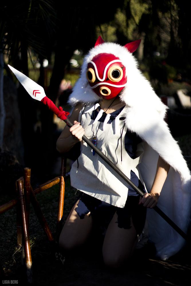 mononoke hime   san by ladymomocosplay dlggim