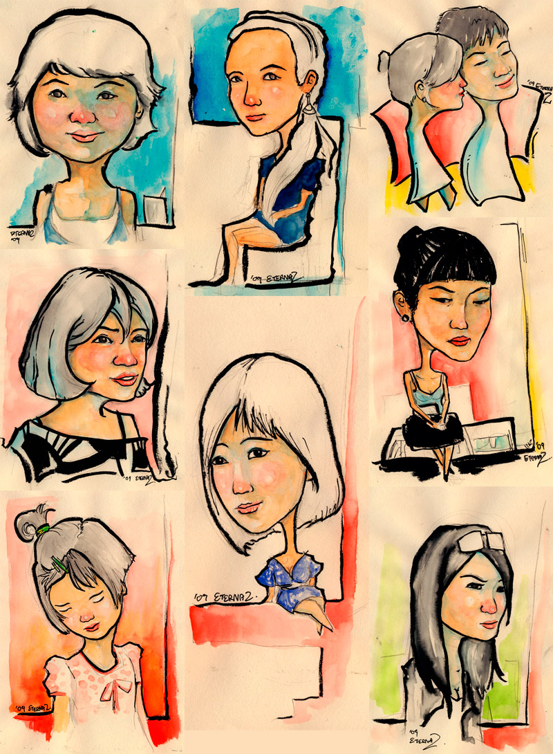 15 Minutes Sketches 02
